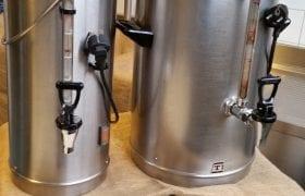 verhuurmateriaal zwolle Koffie containers
