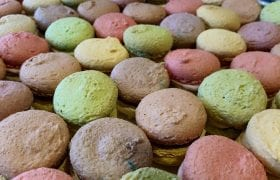 High tea macarons