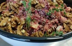 Biologisch Salade en Soep Buffet