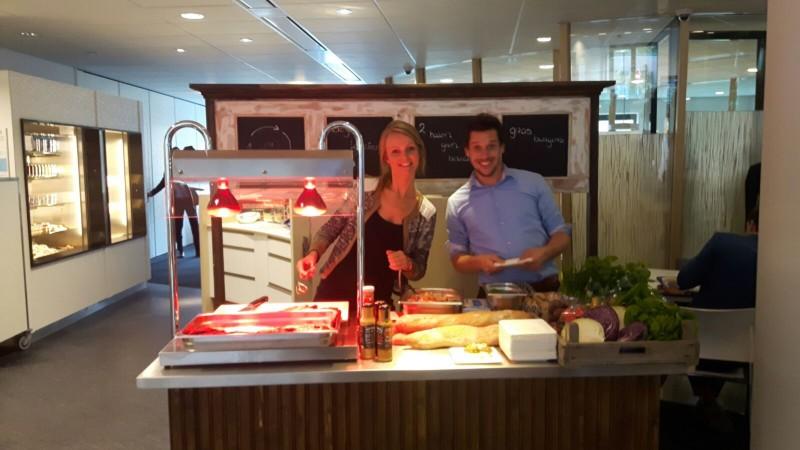 Proeverij biologische catering Zwolle